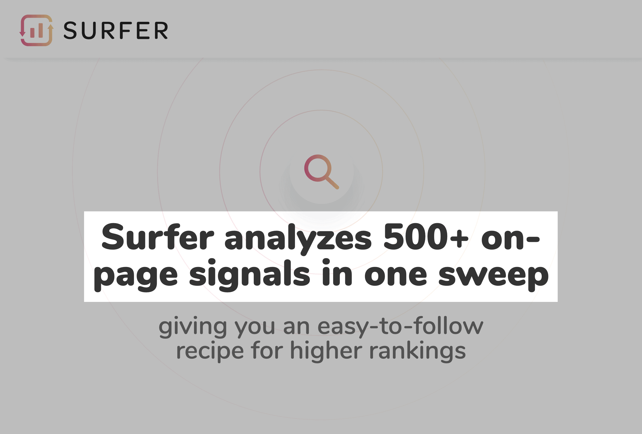 Surferseo – Analyzes On-Page Signals