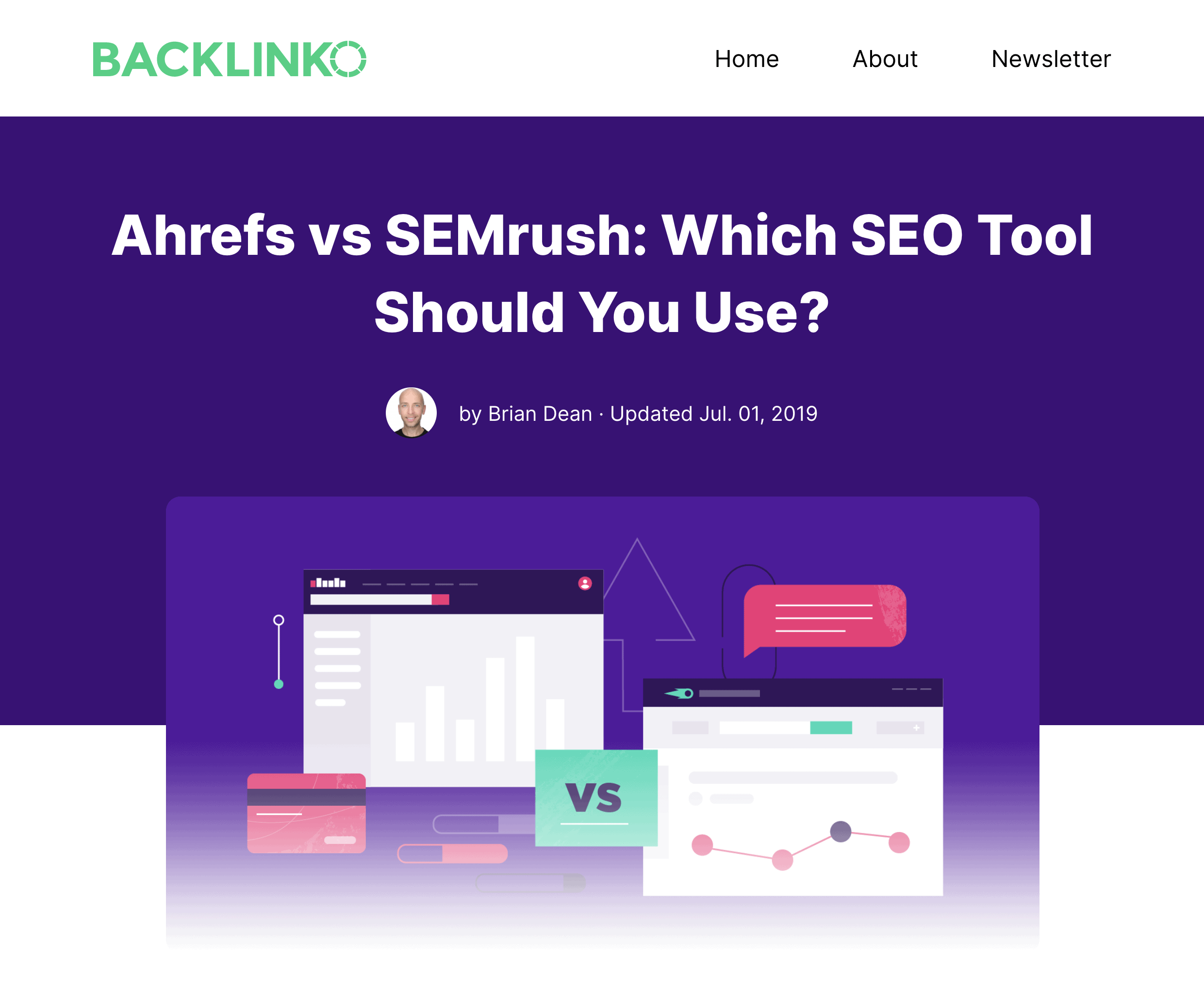 Ahrefs vs SEMrush – Post