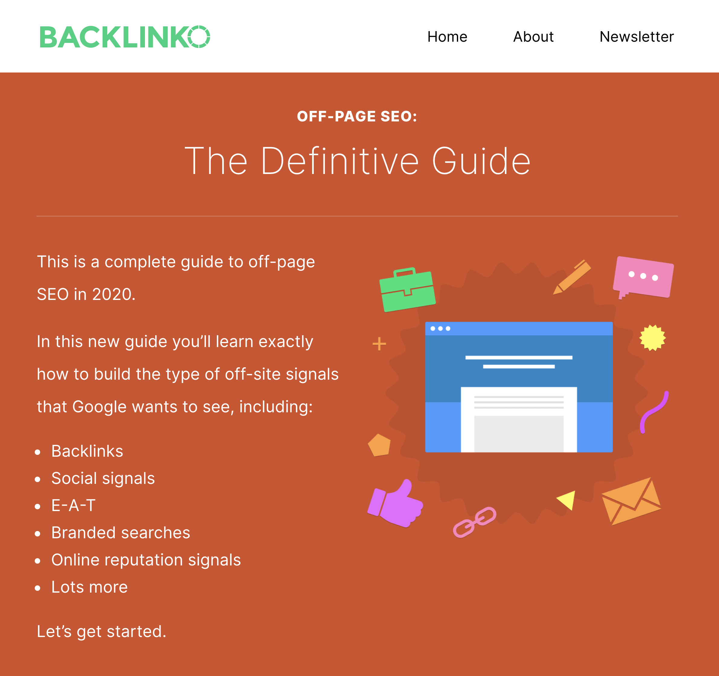 Backlinko – Off-Page SEO Guide Post
