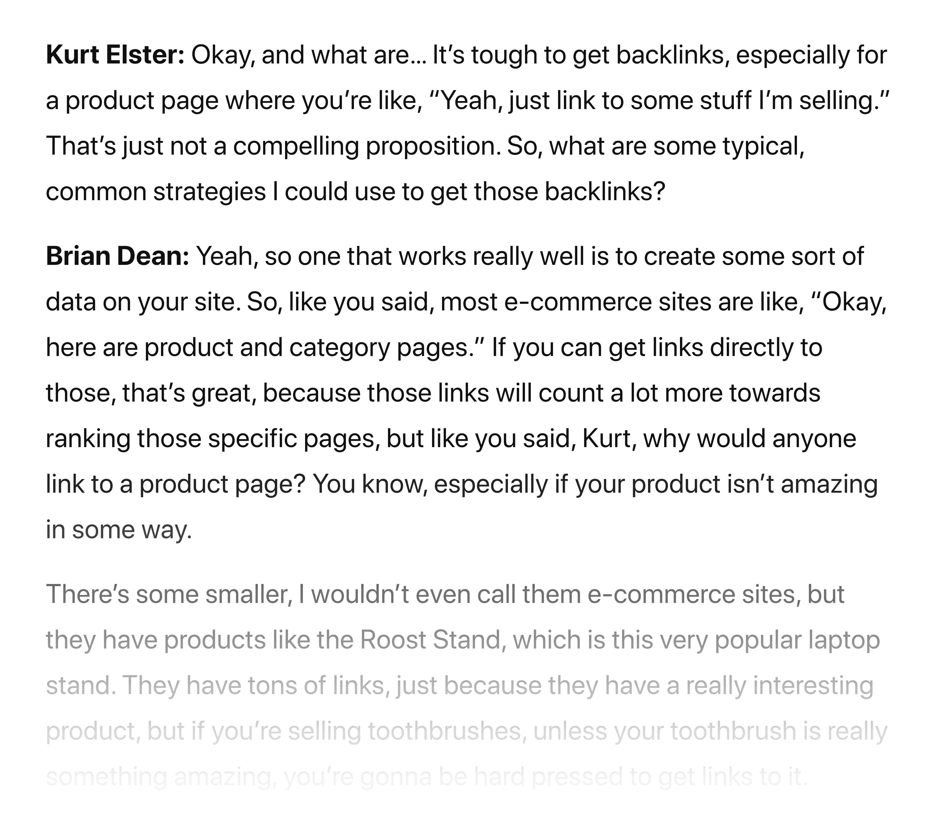 Brian Dean Shopify SEO Podcast Transcript
