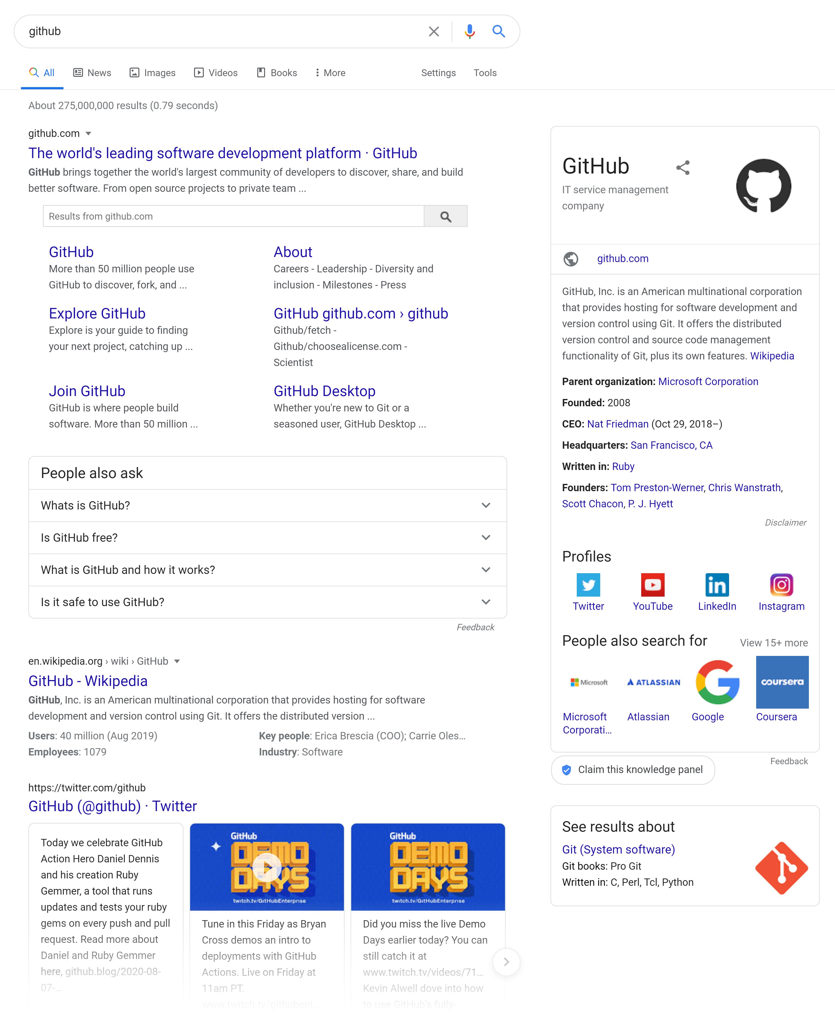 GitHub – Google SERP