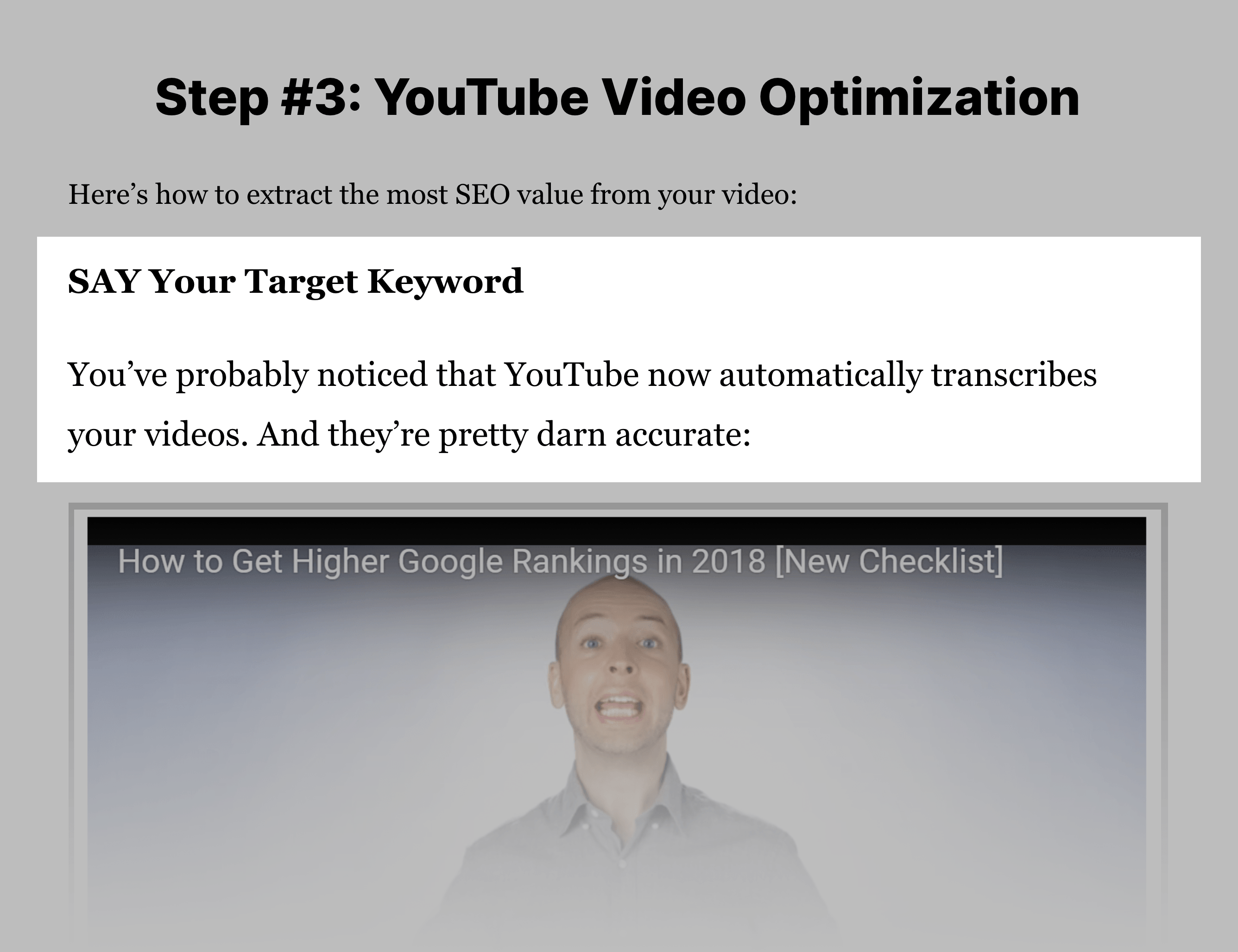 How To Rank YouTube Videos – Step 3