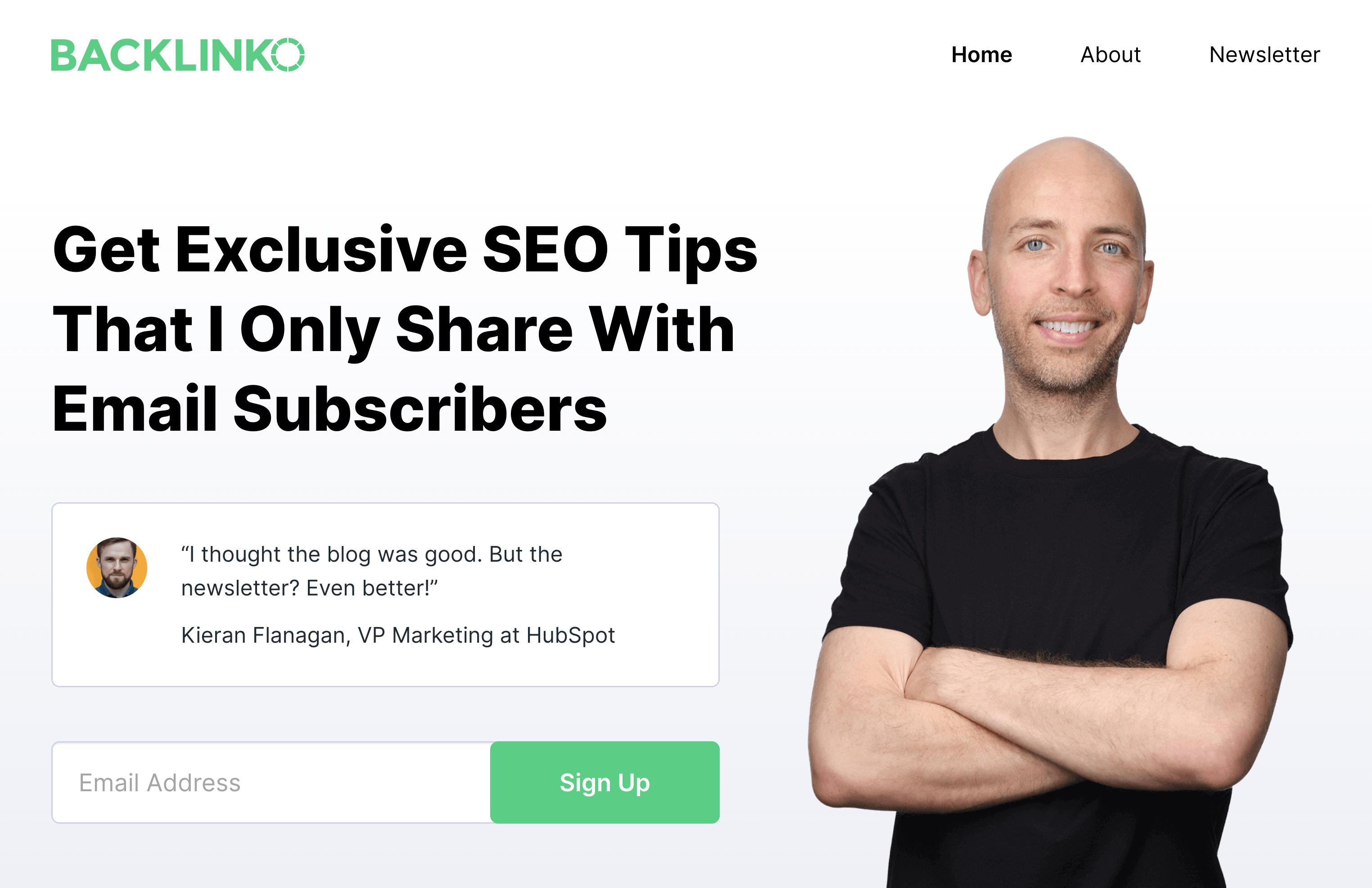 Backlinko – Homepage