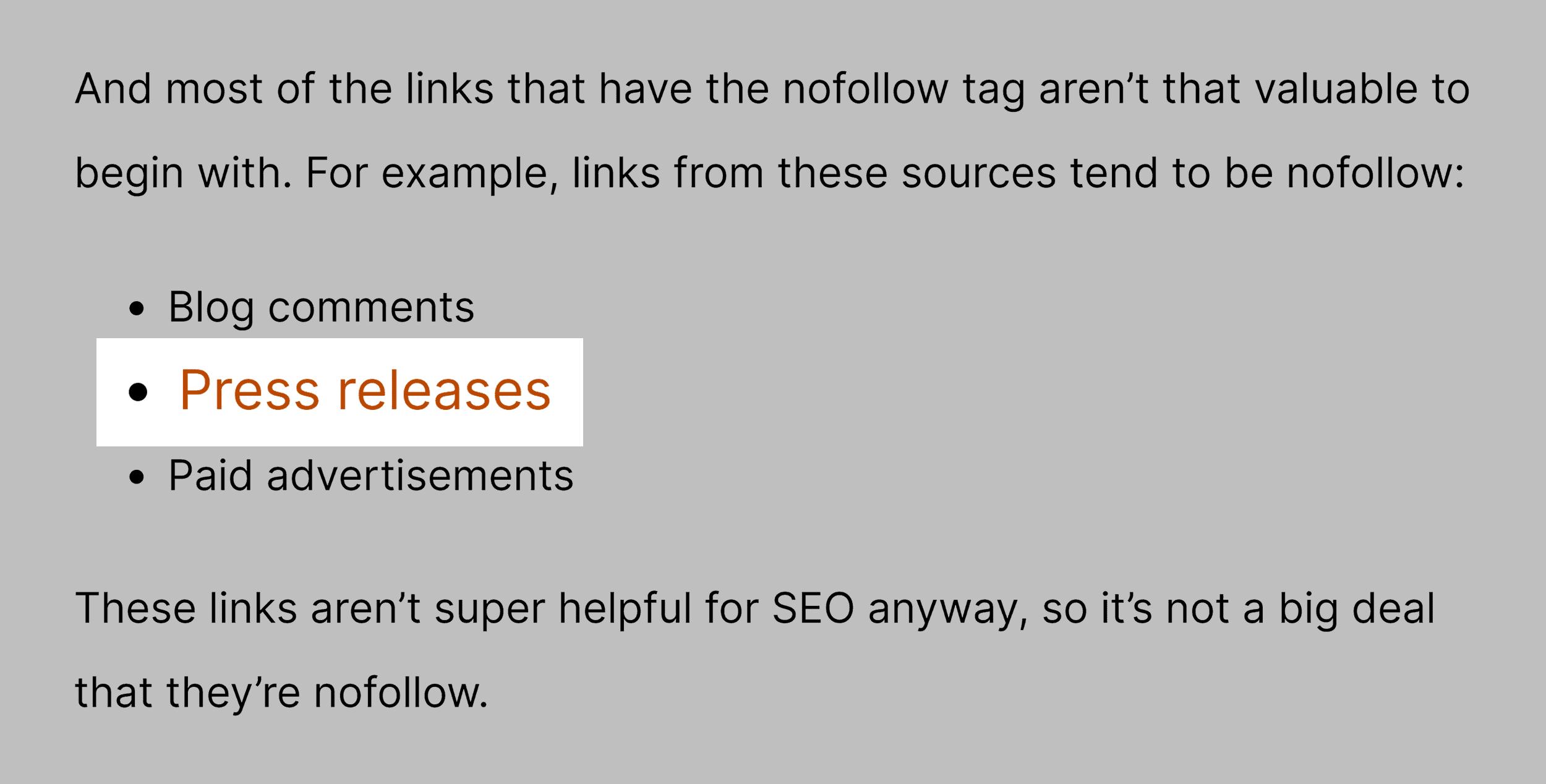 Post internal linking