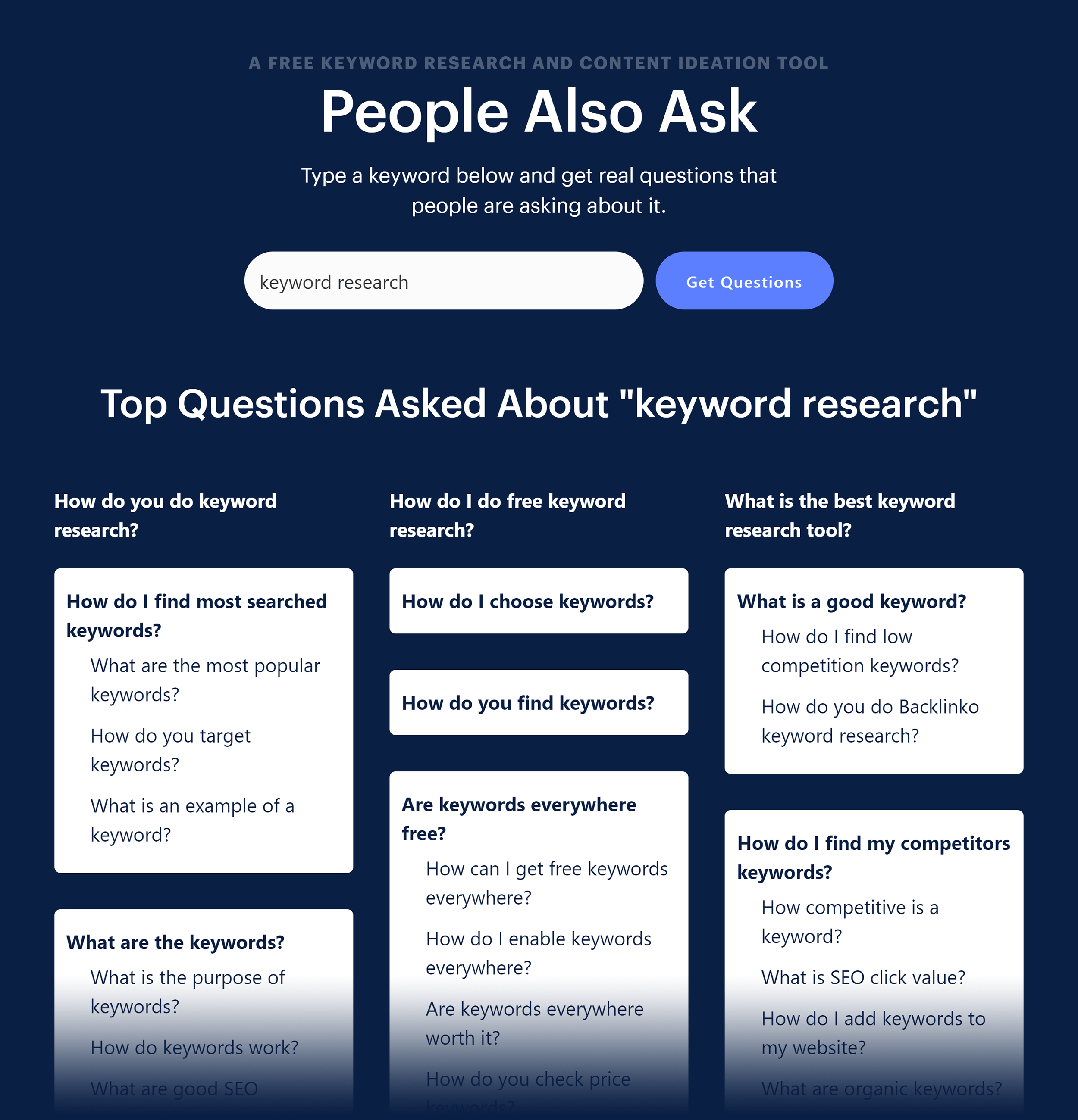 Usetopic – People Also Ask