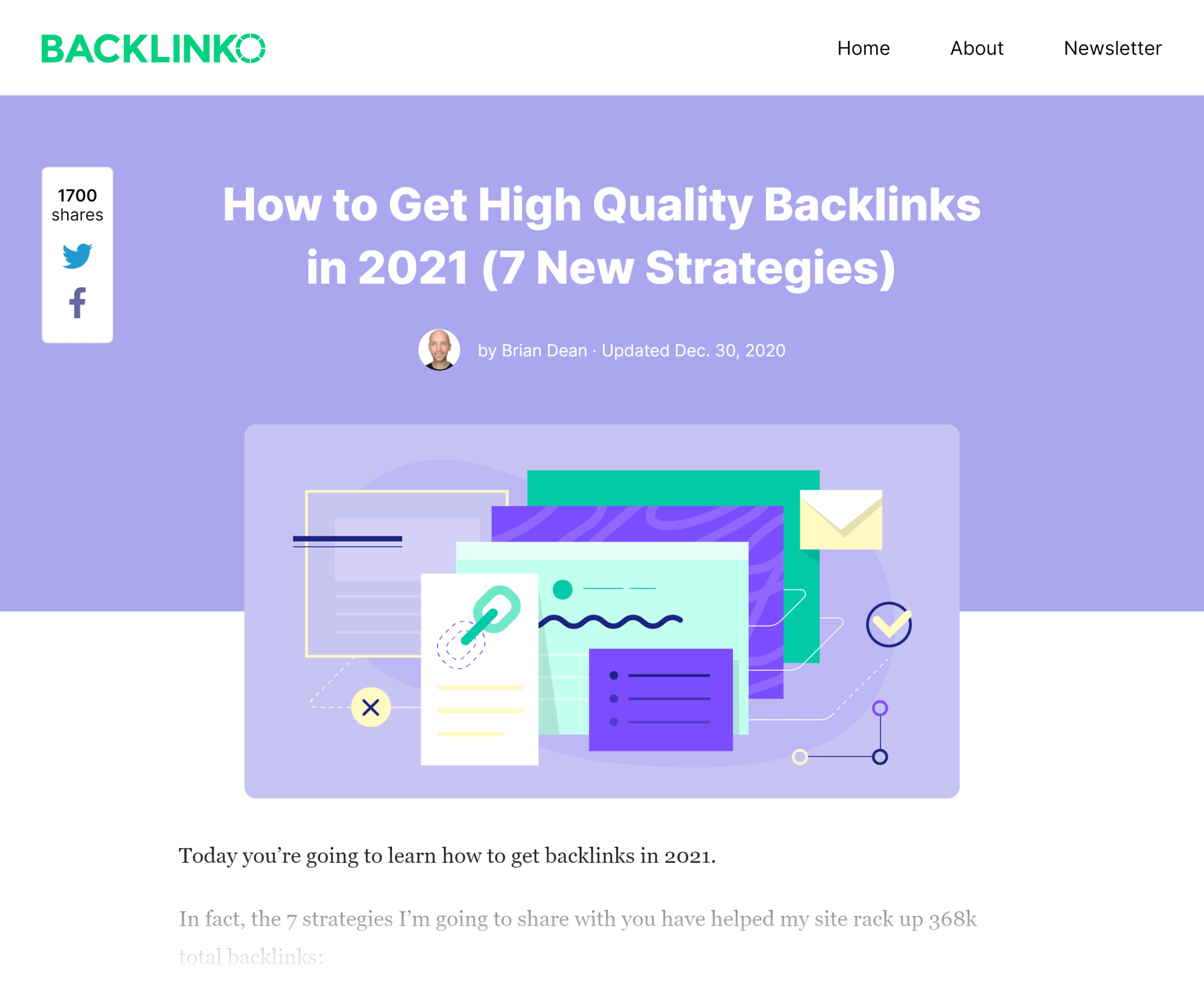 Backlinko – High quality backlinks
