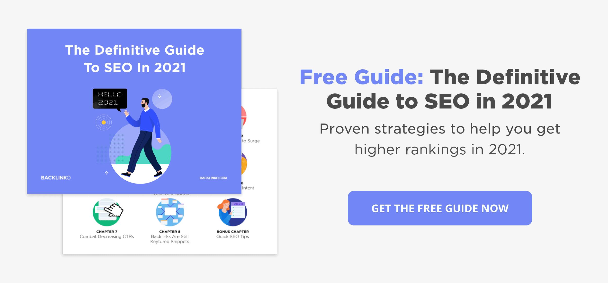 SEO guide resource