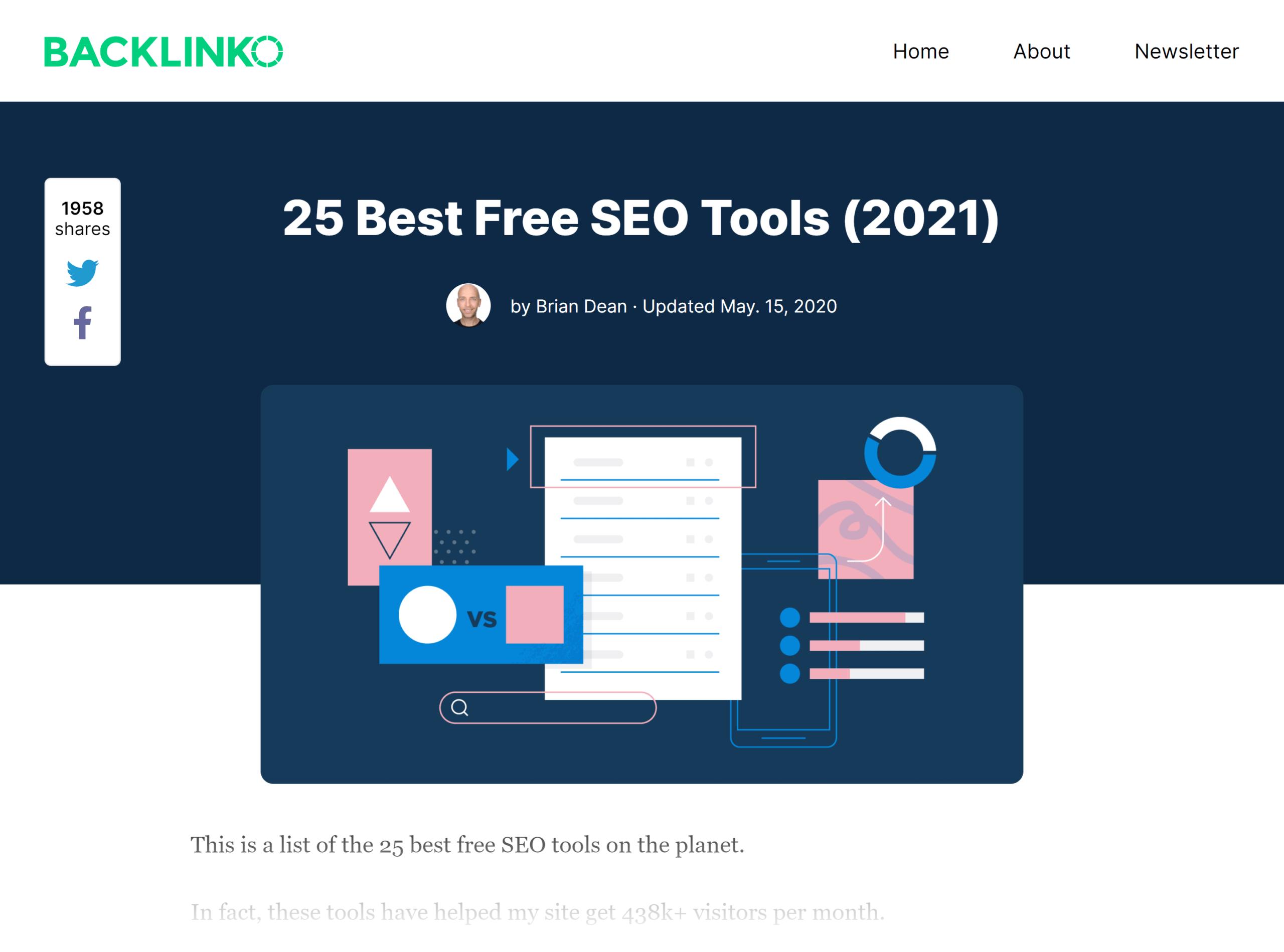 Backlinko – Best free SEO tools