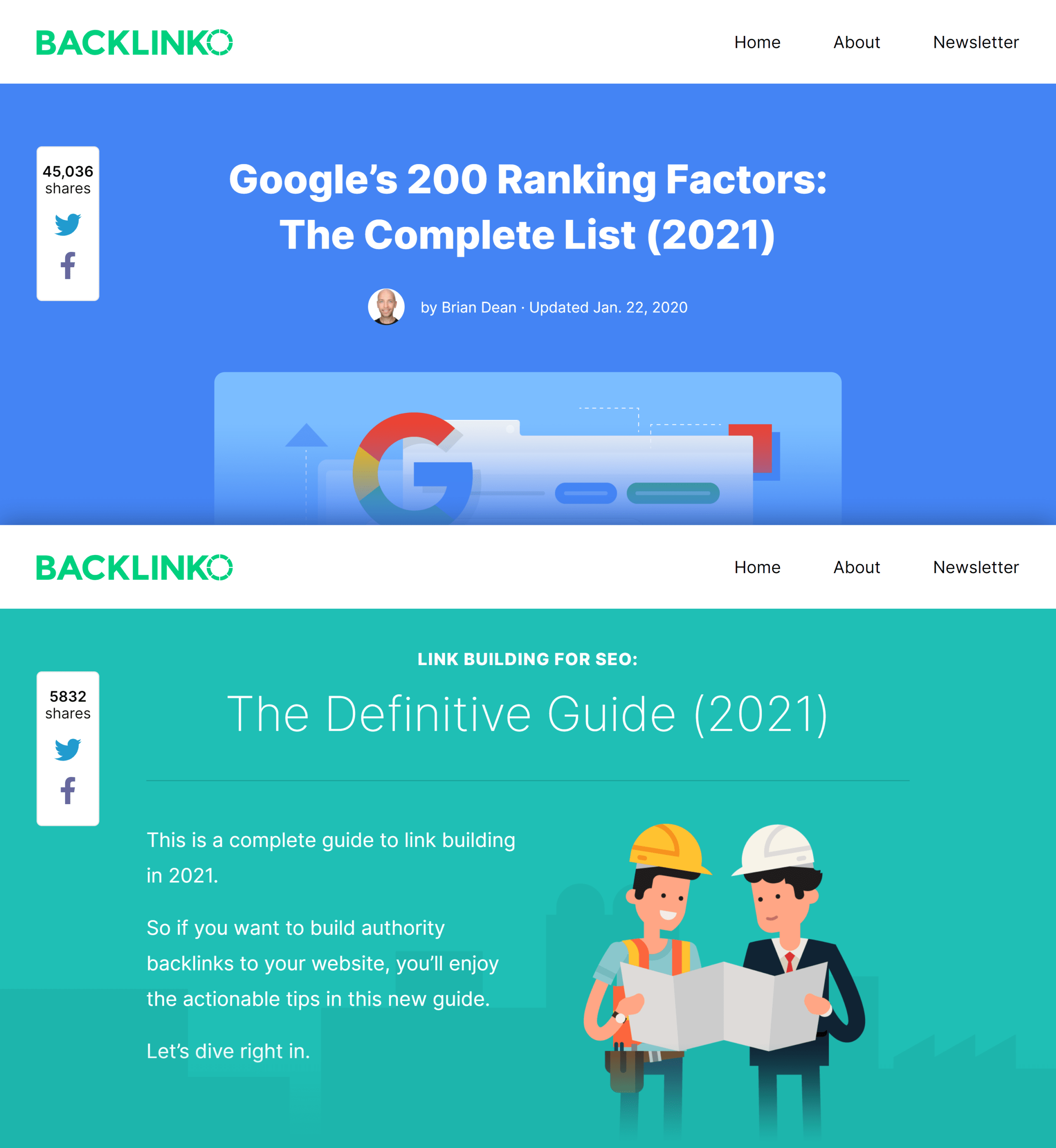 Backlinko – Informational keywords