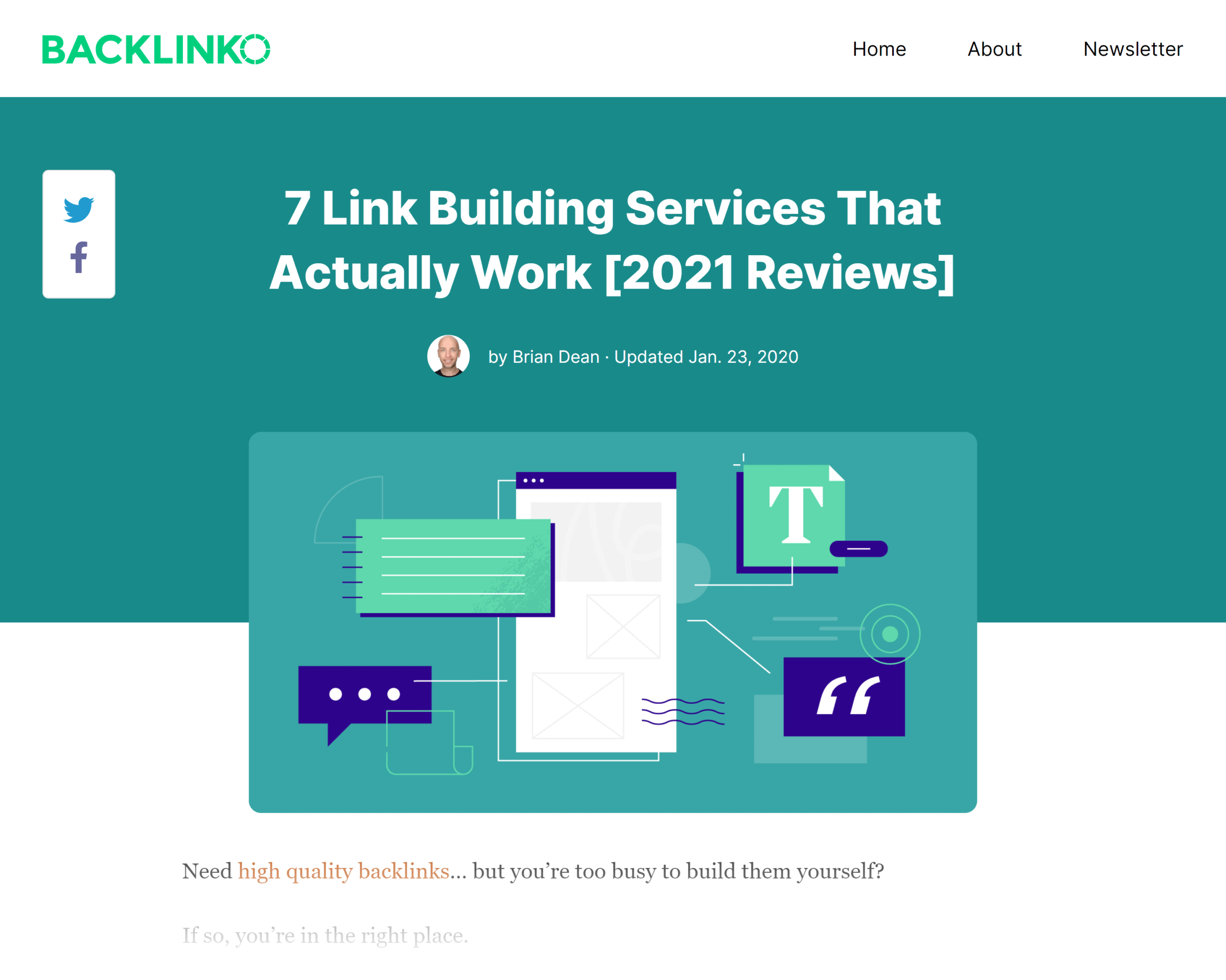 Backlinko – Link building services