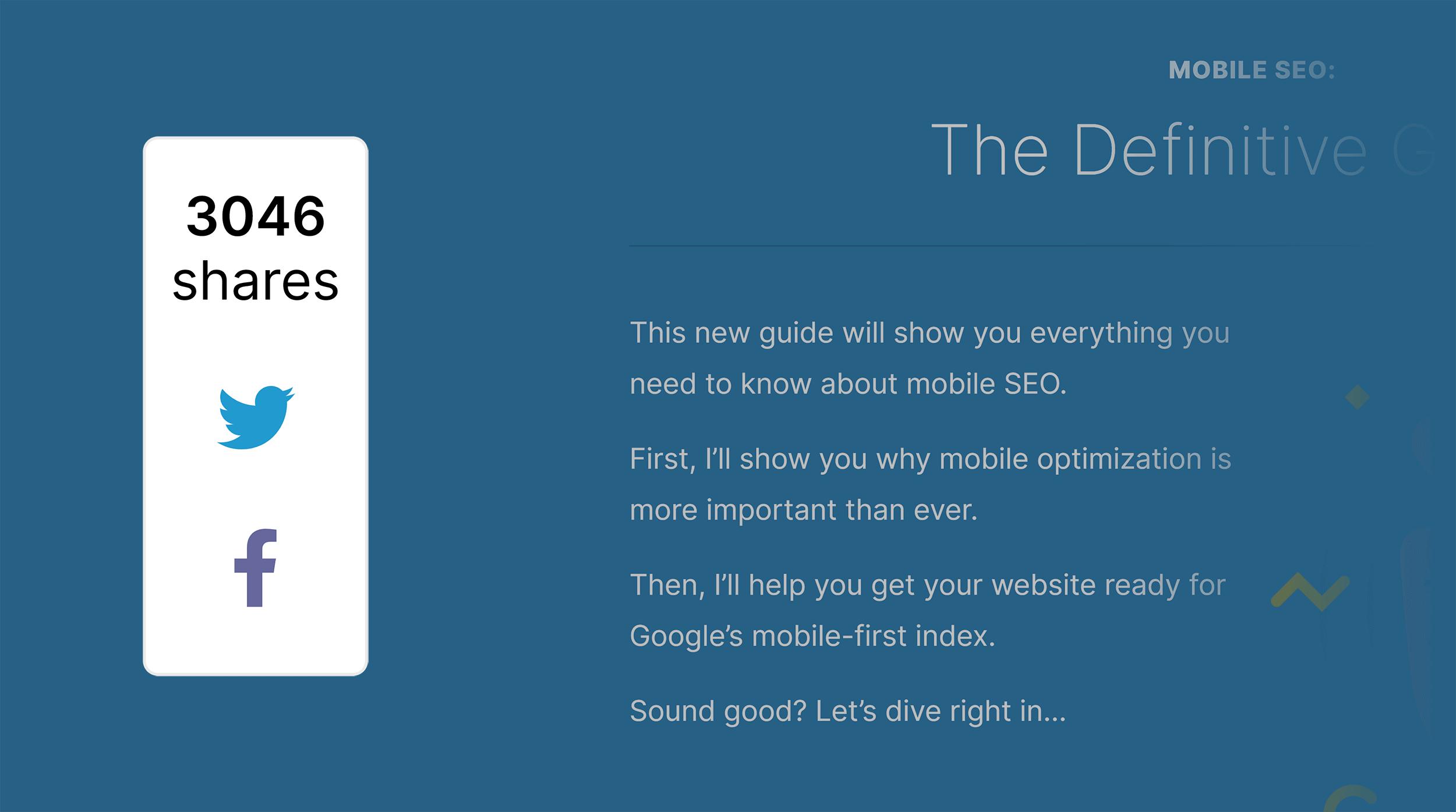 راهنمای جستجوگرها برای موبایل - سهام