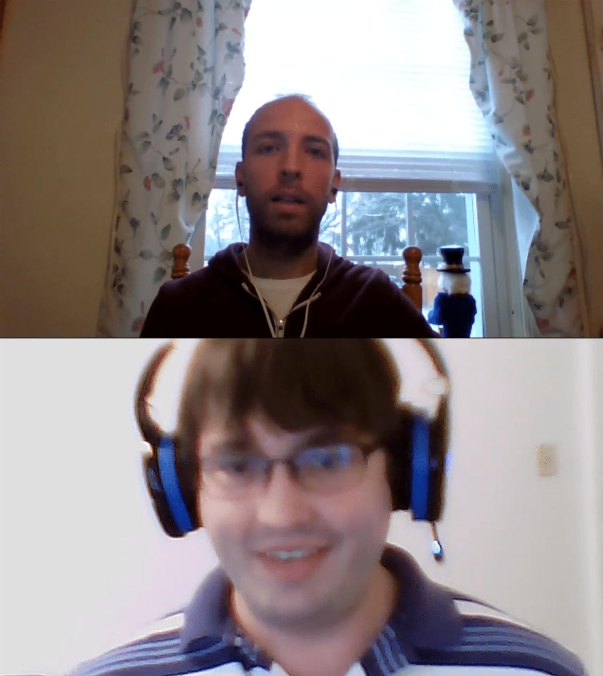 Brian Skype call