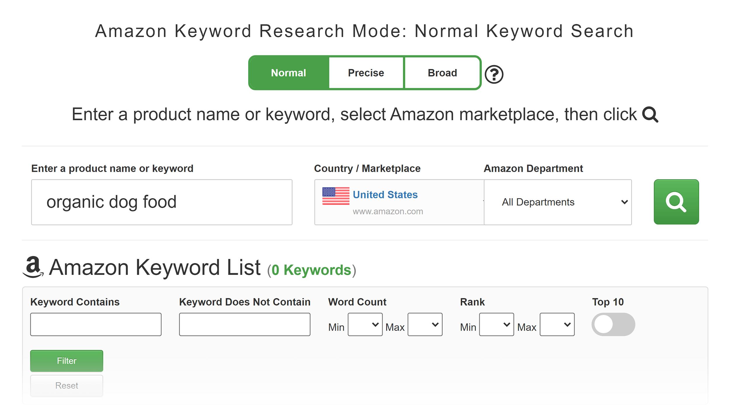 Keyword Tool Dominator – Amazon keyword tool