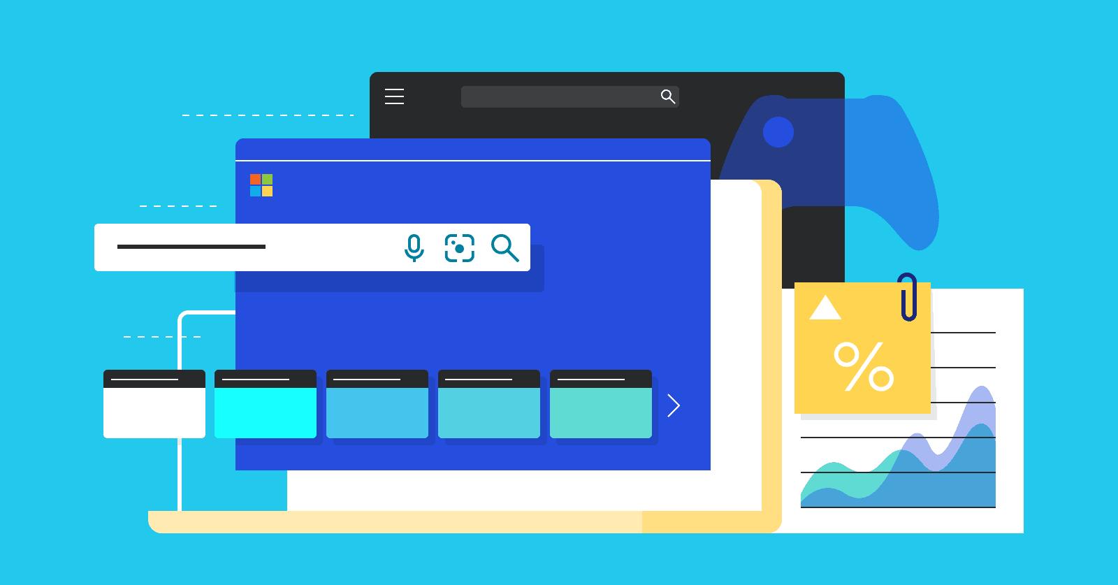 Microsoft Bing Usage and Revenue Stats