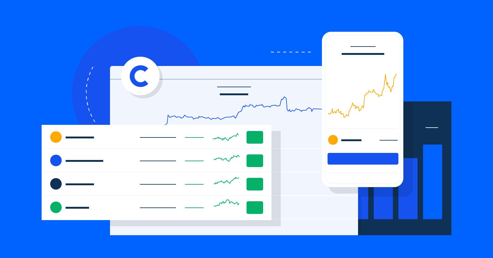 Coinbase Usage and Trading Statistics