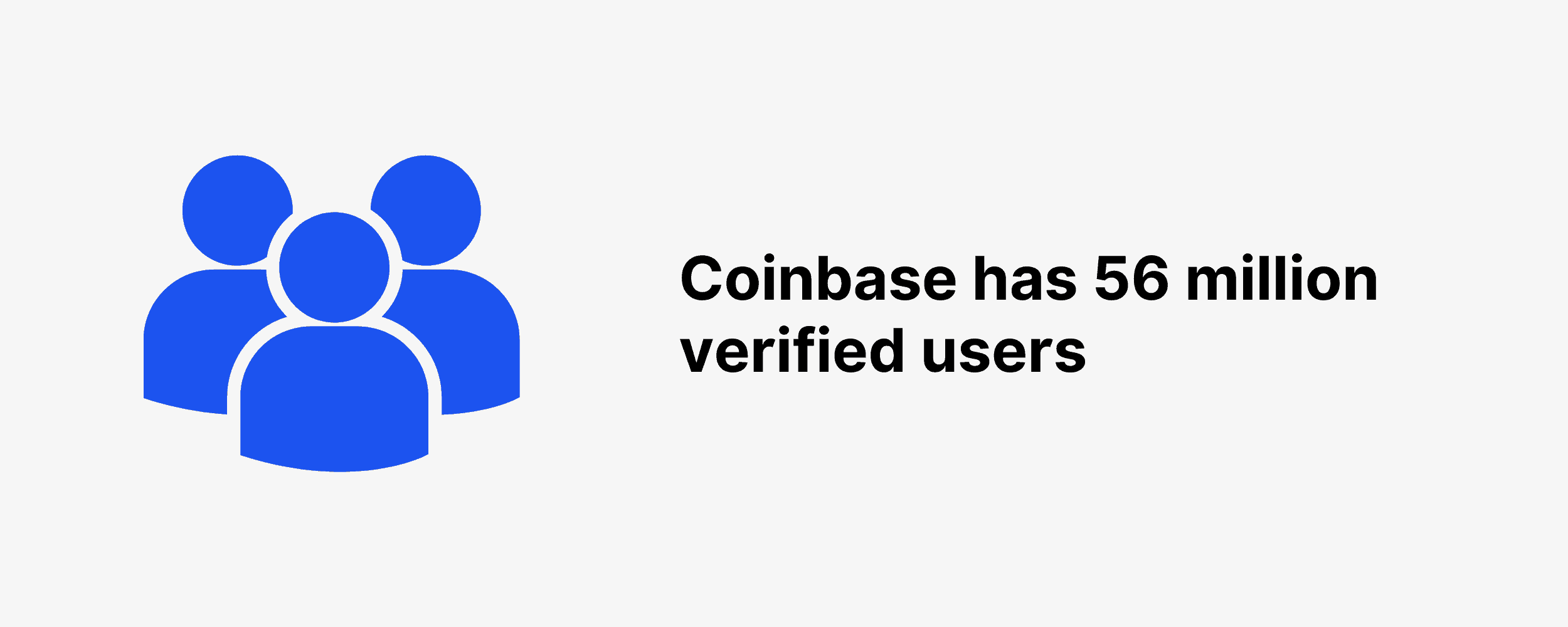 Coinbase has 56 million verified users