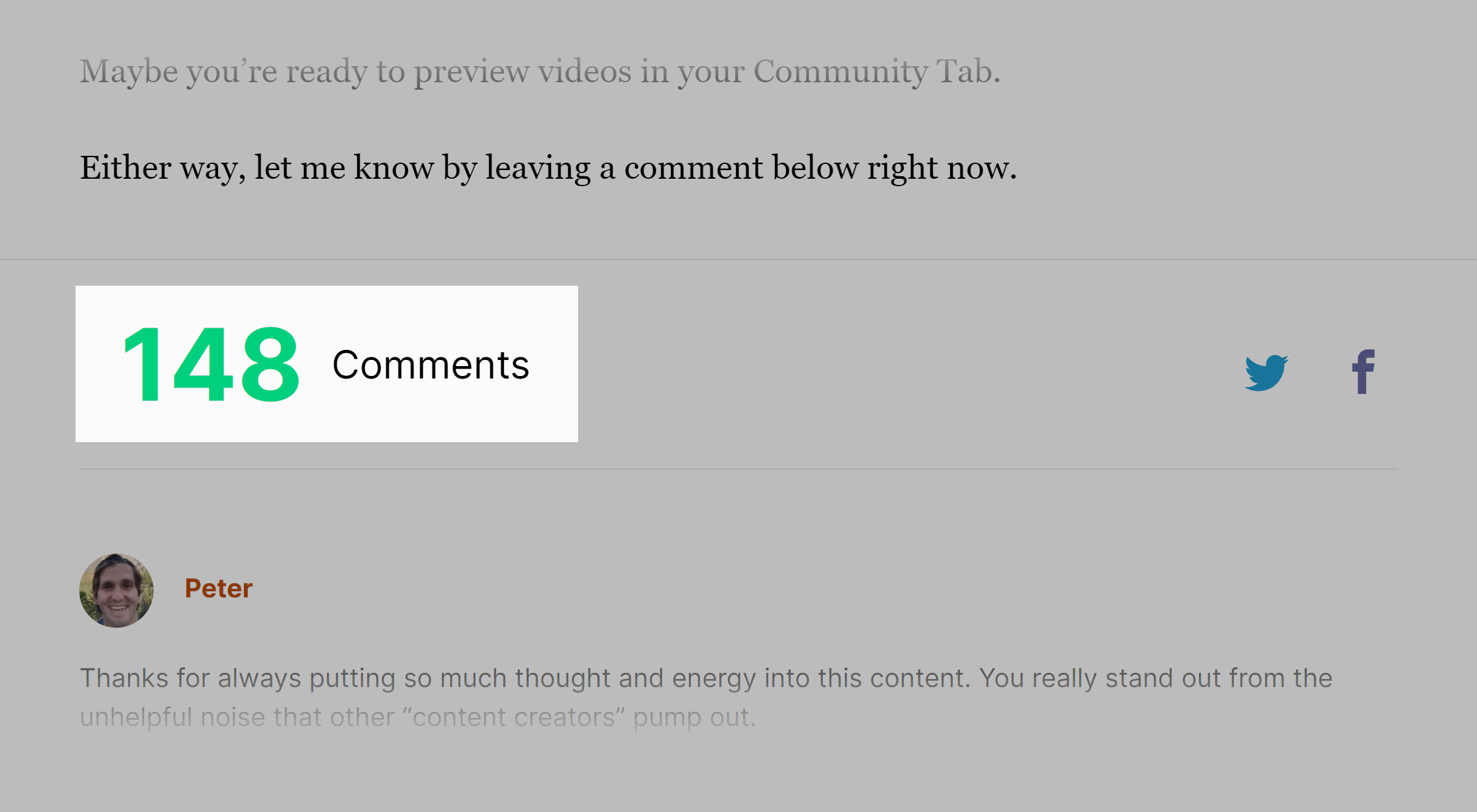 Get YouTube views post – Comments