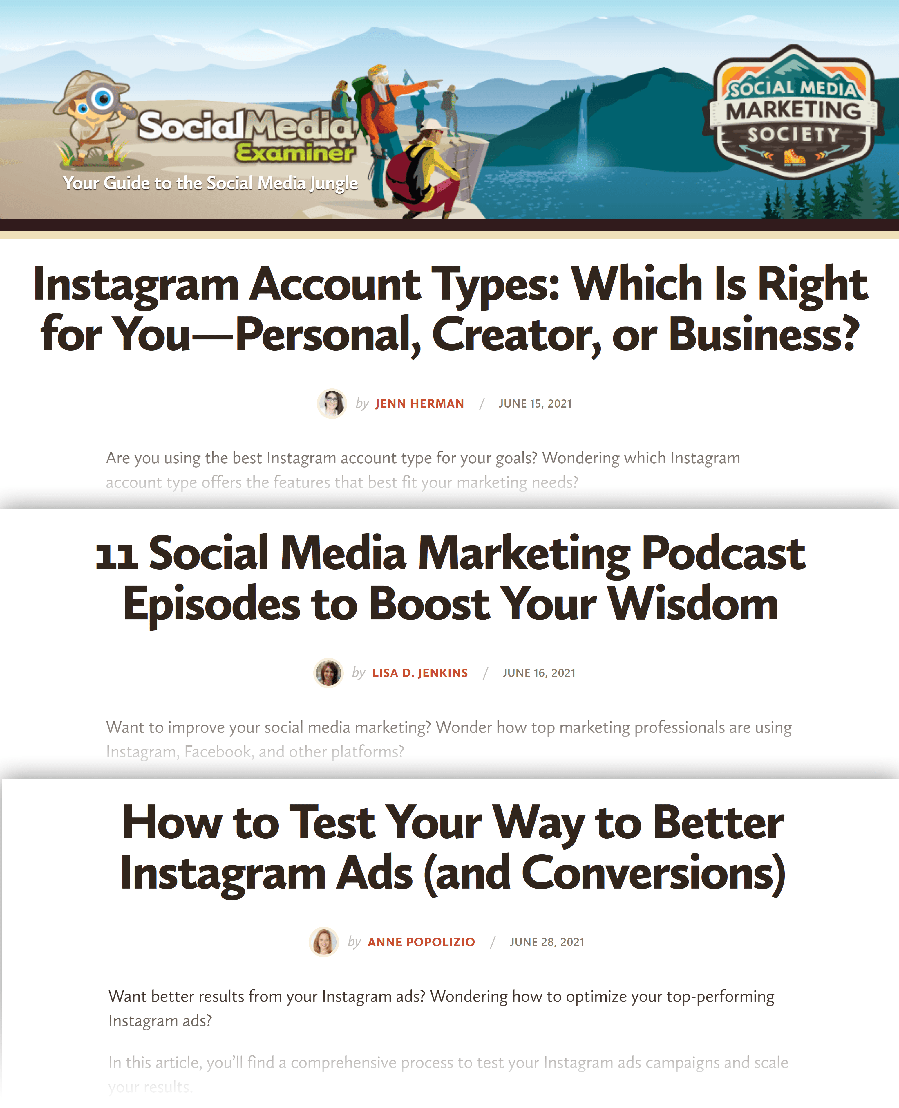 Social Media Examiner – Posts