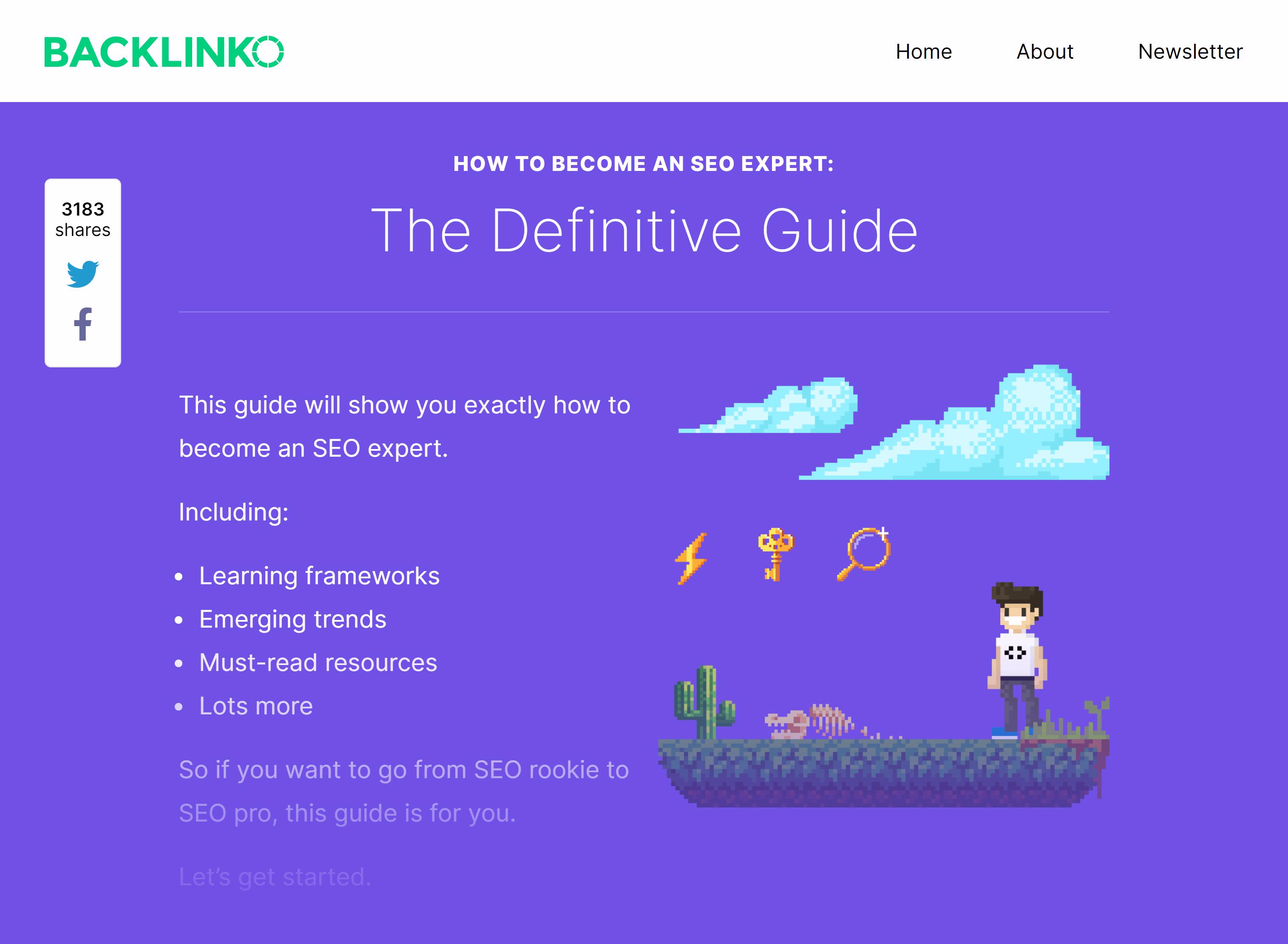 Backlinko – SEO Expert Guide