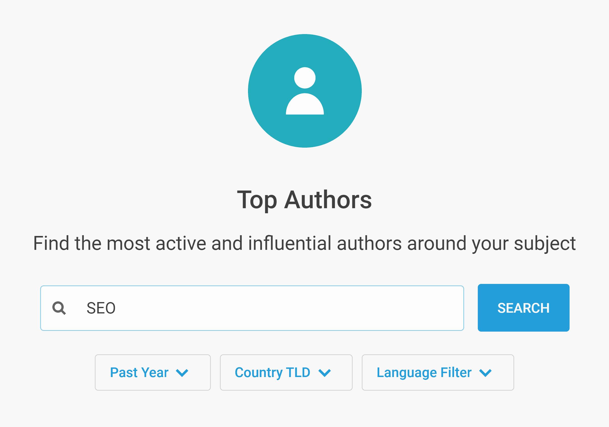 Buzzsumo – Influencers – Authors