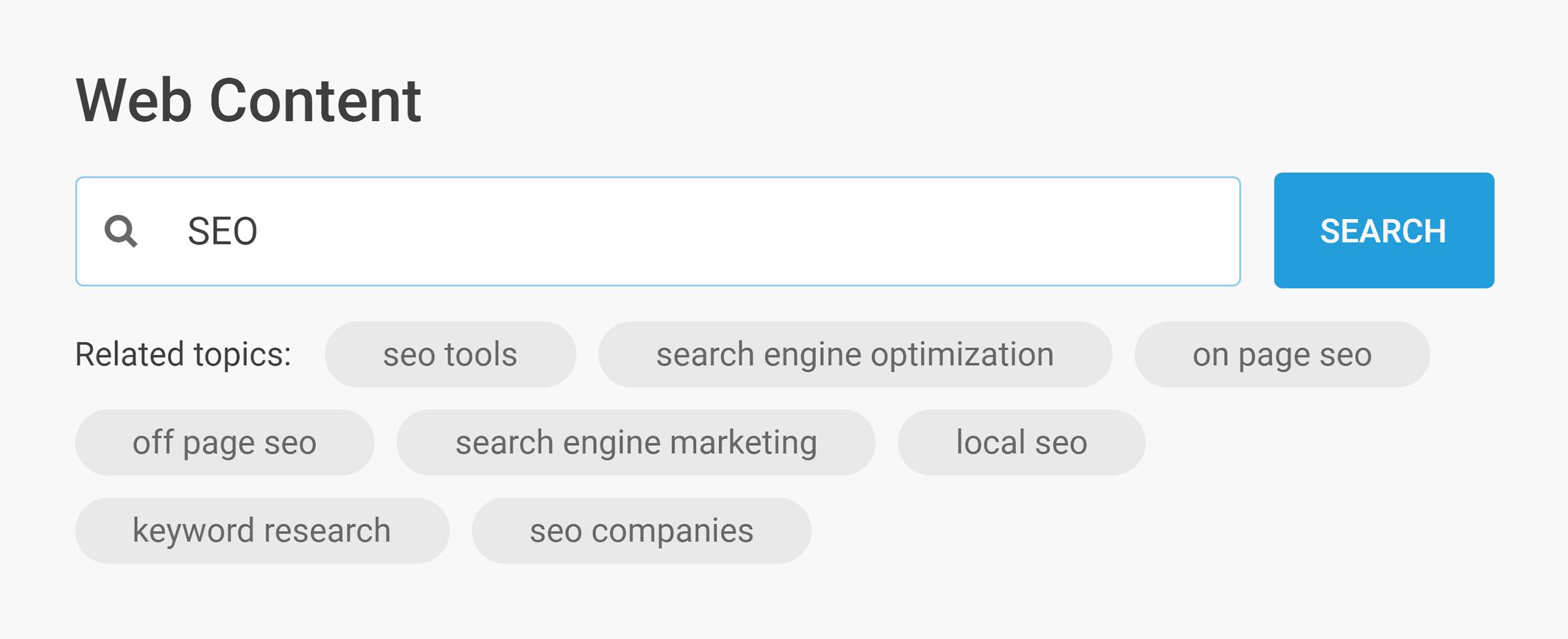 Buzzsumo – Web search – SEO