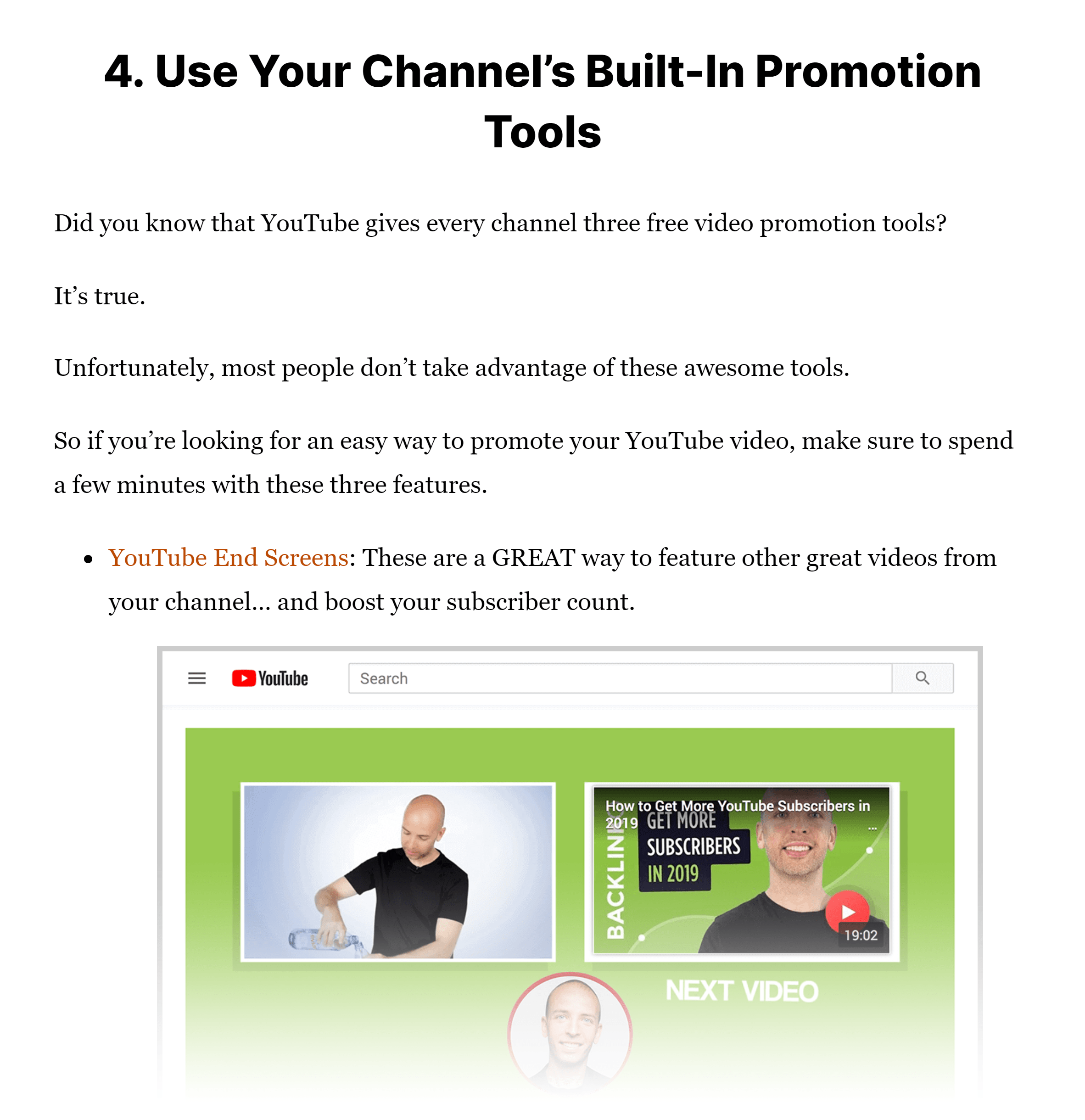 Promote YouTube videos post – Simple tips