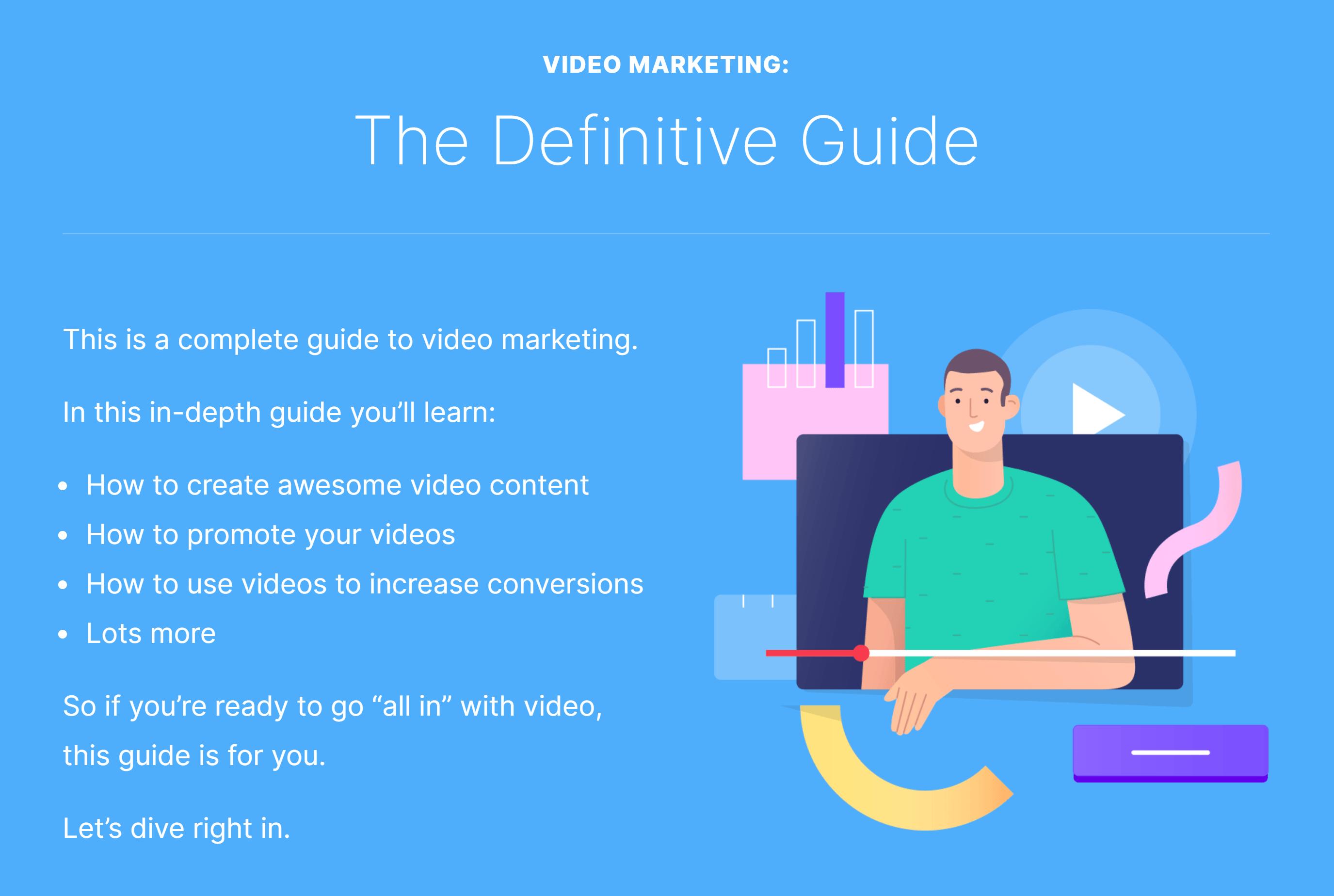 Video marketing guide post – Intro