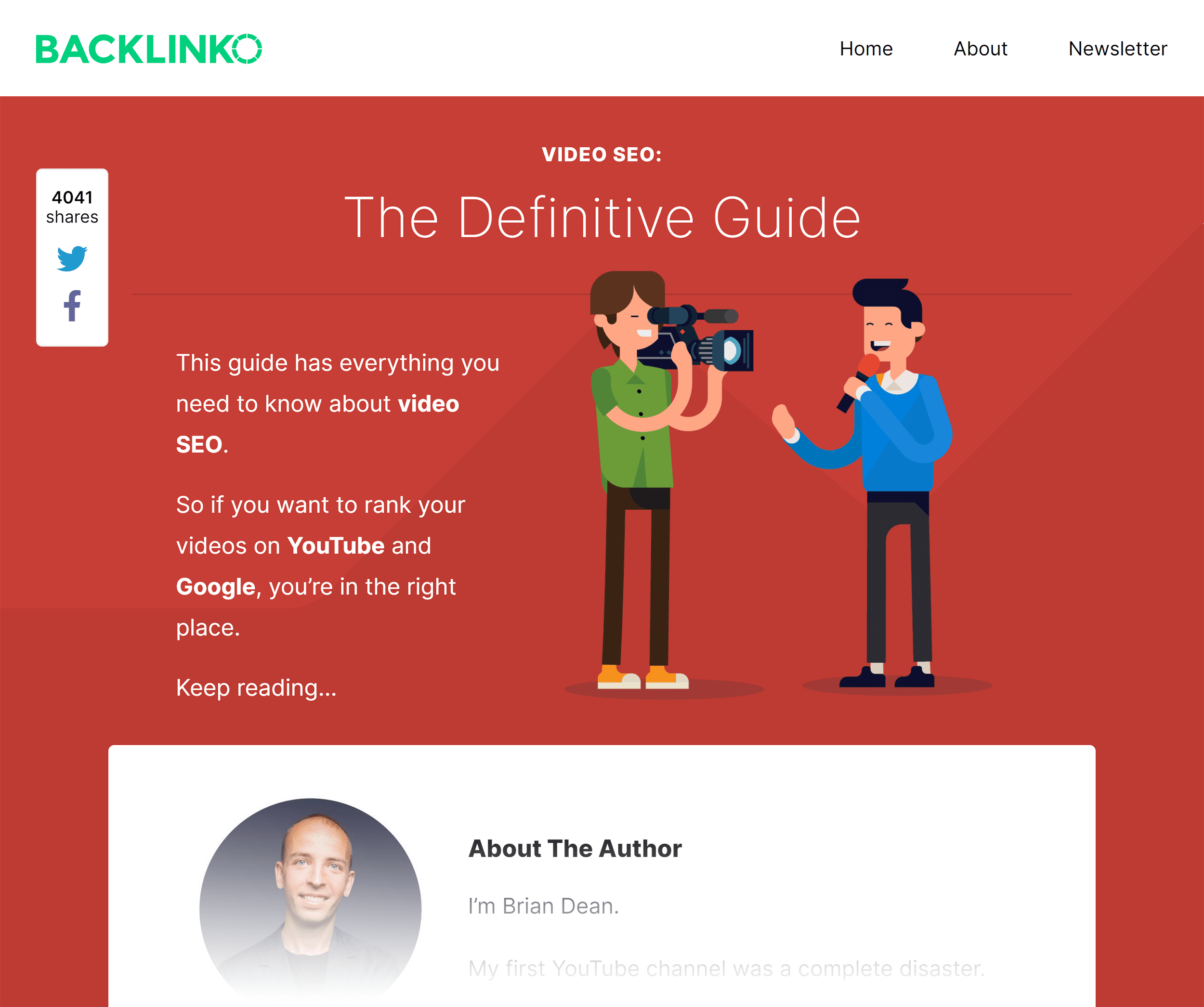 Backlinko – Video SEO guide