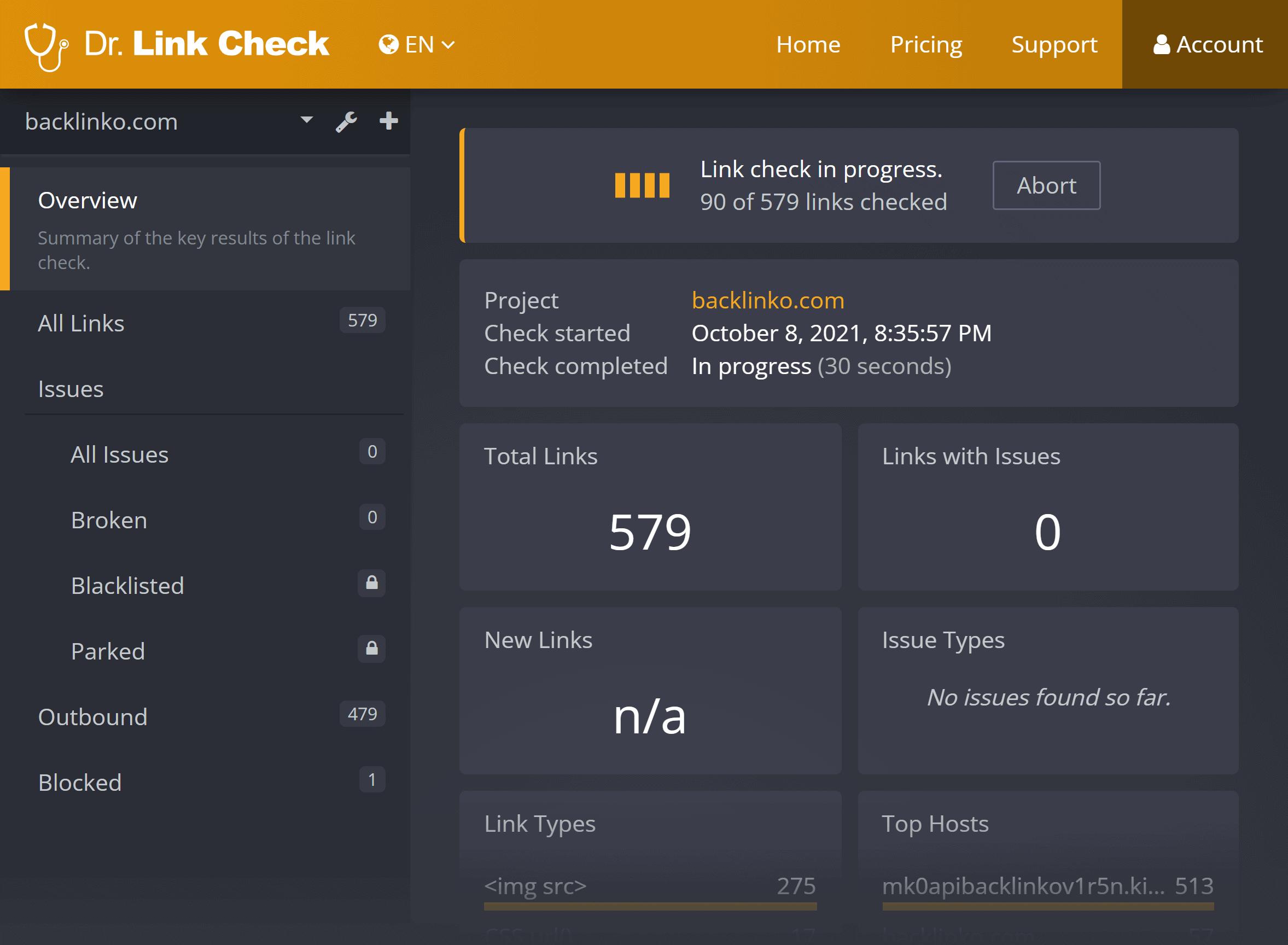 Dr. Link Check – Backlinko