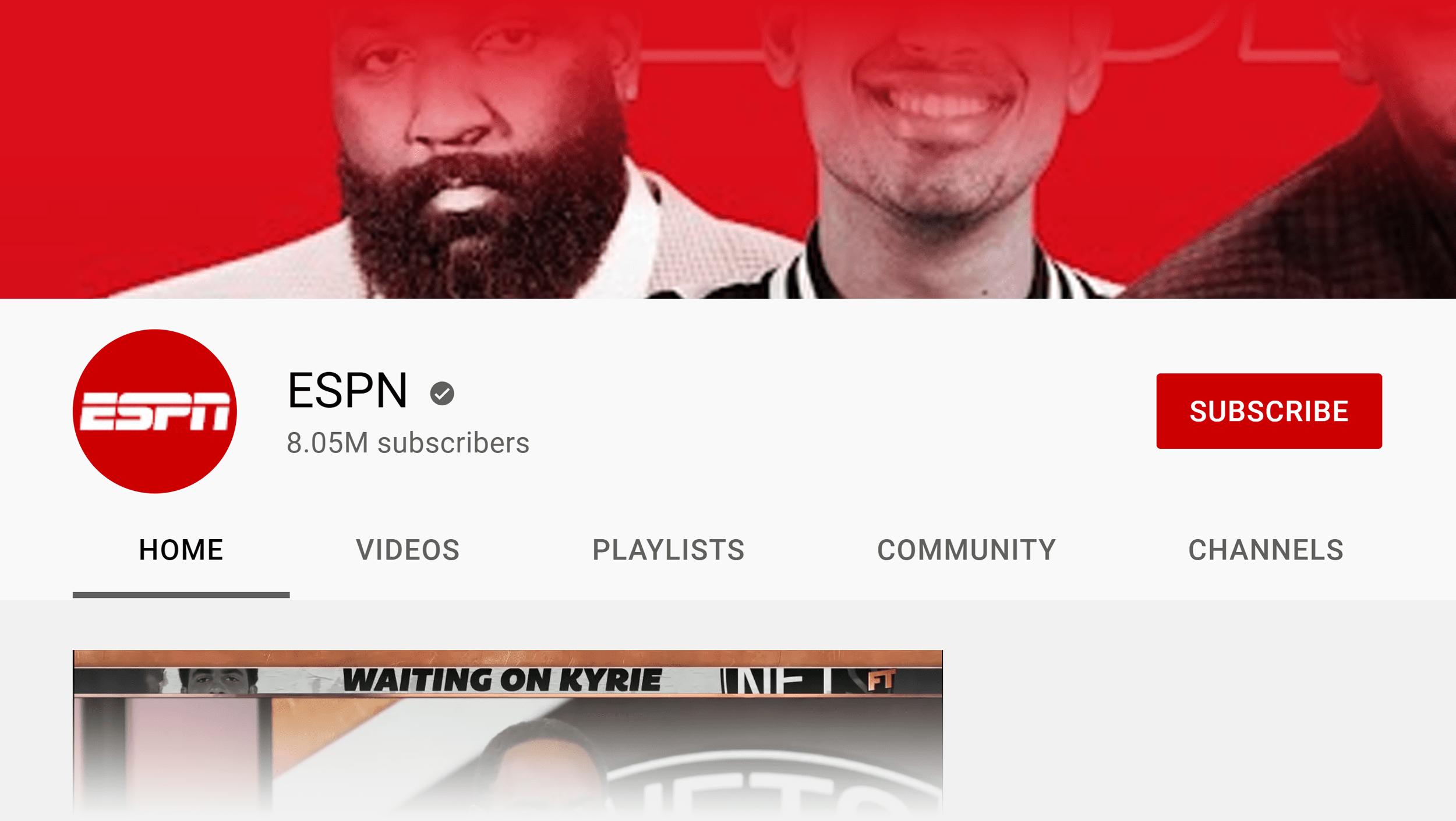 ESPN channel icon