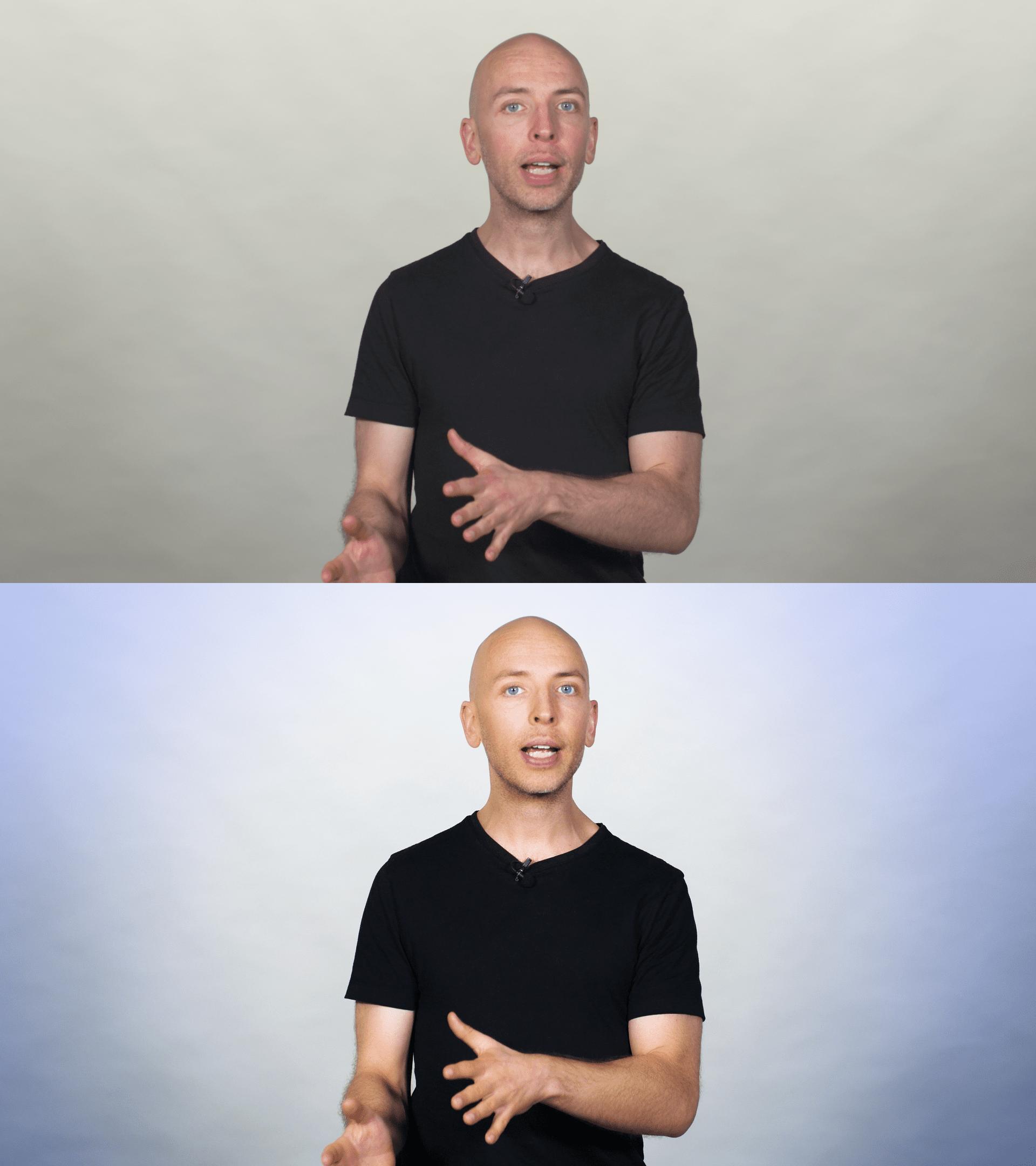 Raw vs edited video